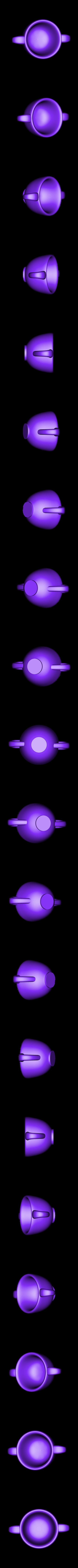 MAKIES_Sugar_Bowl.STL Download free STL file Makies Tea Set • 3D printable design, Makies