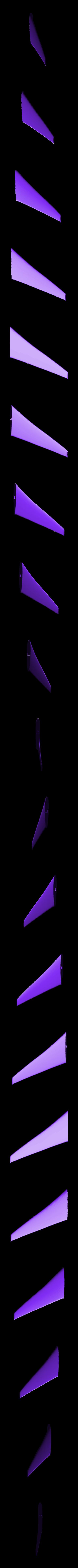 Wing_R.stl Download STL file Replica Gulfstream G650 3D print model • 3D print design, Eduardohbm