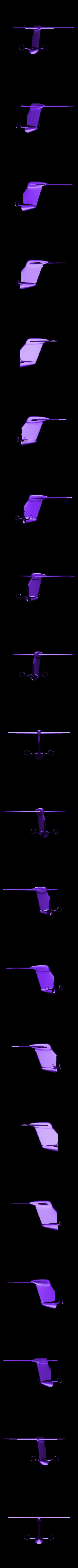 Tail.stl Download STL file Replica Gulfstream G650 3D print model • 3D print design, Eduardohbm
