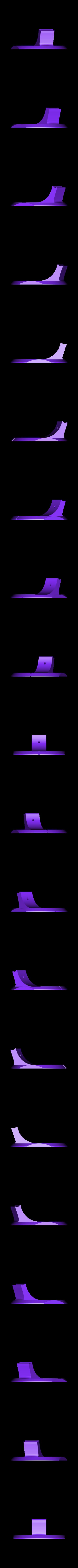Rotating_Base.stl Download STL file Adjustable lamp - with vertebrae  • 3D printable object, Ciokobango