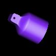 bulb_housing.stl Download STL file Adjustable lamp - with vertebrae  • 3D printable object, Ciokobango