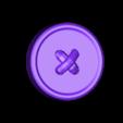 Sleeve_button.stl Download free STL file Bold Machines: Mr. Walthersnap • 3D print design, boldmachines