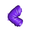 Sleeve_right.stl Download free STL file Bold Machines: Mr. Walthersnap • 3D print design, boldmachines
