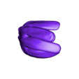 Glove_top.STL Download free STL file Kyrgstzt - Driver and Chemist (Margo Movie Character) • Object to 3D print, boldmachines