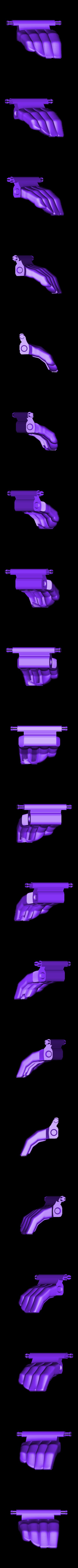 fingers6.stl Download free STL file Mechanical Prosthetic Concept Model • 3D printing design, boldmachines