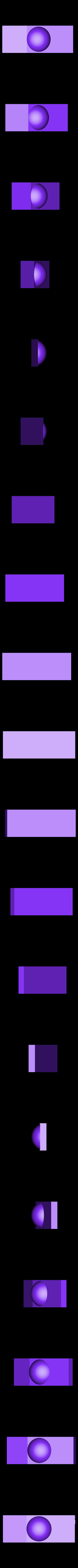 3_TopSurfaceQuality.stl Télécharger fichier STL gratuit Marque : 2017 Fichiers de test d'imprimante 3D • Objet pour imprimante 3D, MAKE