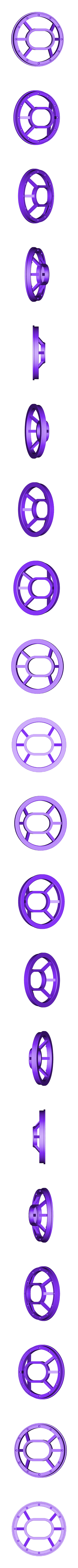 eye_window_DUAL_frame.stl Download free STL file Gowanus Monster - Margo Series • 3D printable object, boldmachines