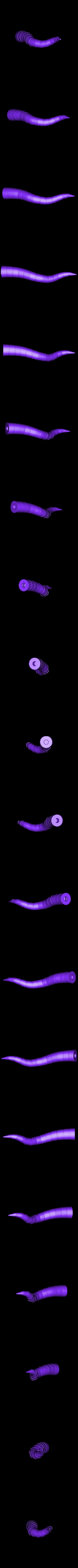 tentacle_01.stl Download free STL file Gowanus Monster - Margo Series • 3D printable object, boldmachines