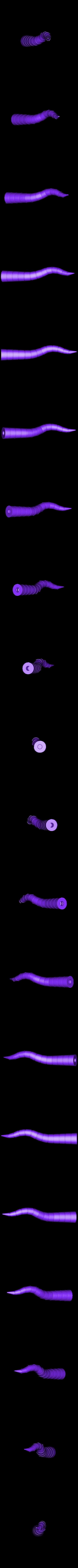 tentacle_02.stl Download free STL file Gowanus Monster - Margo Series • 3D printable object, boldmachines