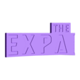 The_Expanse_Back1_01.OBJ Download free OBJ file The Expanse – Main Title Logo • 3D printable object, SYFY
