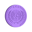 UN_Logo_01.stl Download free OBJ file The Expanse – United Nations Logo • Model to 3D print, SYFY
