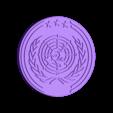 UN_Logo_01.stl Télécharger fichier OBJ gratuit The Expanse - Logo des Nations Unies • Objet à imprimer en 3D, SYFY