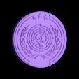 UN_Logo_01.OBJ Télécharger fichier OBJ gratuit The Expanse - Logo des Nations Unies • Objet à imprimer en 3D, SYFY