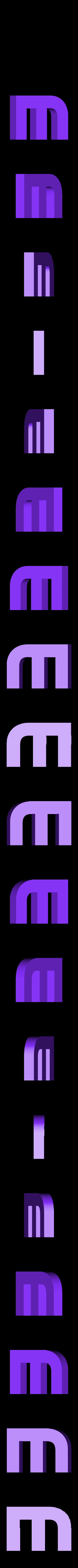 MD_m_01.stl Download free STL file Dark Matter - Main Title Logo • 3D printer object, SYFY
