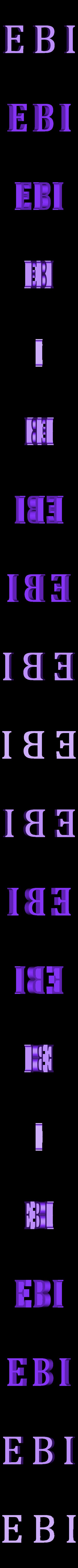 Break_EBI_01.stl Download free STL file The Magicians - Brakebills University Logo • 3D printing template, SYFY