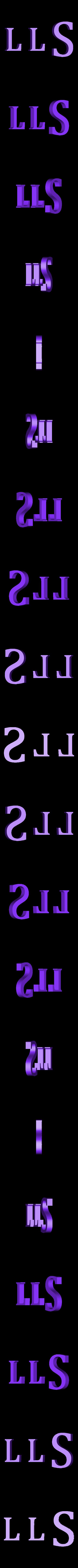 Break_LLS_01.stl Download free STL file The Magicians - Brakebills University Logo • 3D printing template, SYFY