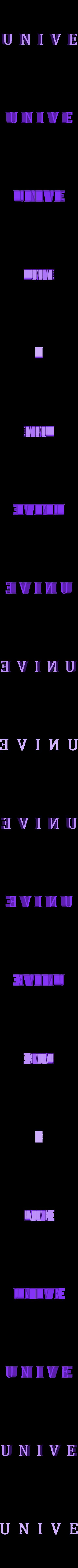 Break_UNIVE_01.stl Download free STL file The Magicians - Brakebills University Logo • 3D printing template, SYFY