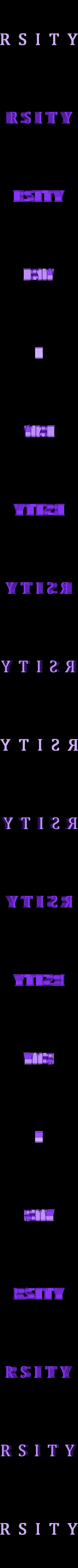 Break_RSITY_01.stl Download free STL file The Magicians - Brakebills University Logo • 3D printing template, SYFY