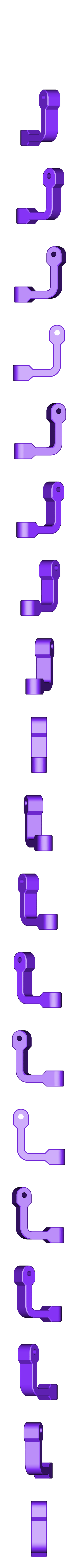 Scottoiler_swivel_3.stl Download free STL file Mounting Base Scottoiler eSystem • Template to 3D print, Harry_D60