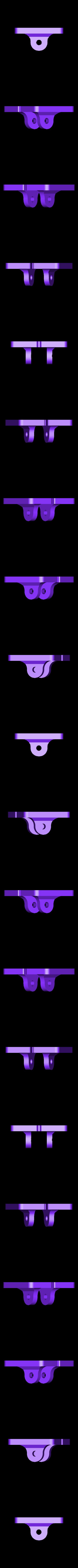 Scottoiler_platform.stl Download free STL file Mounting Base Scottoiler eSystem • Template to 3D print, Harry_D60