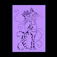 cat_stencil.stl Download free STL file Cat Stencil • Template to 3D print, 3dlito
