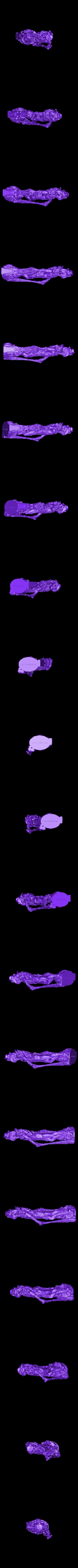 Snakeman_Low.stl Télécharger fichier STL gratuit Serpentine Merchant • Objet à imprimer en 3D, bendansie