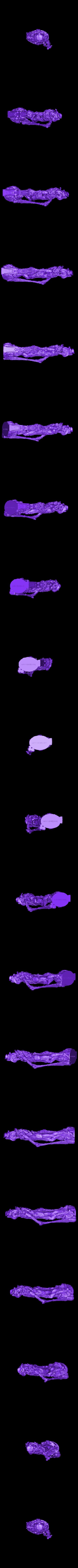 Snakeman_High.stl Télécharger fichier STL gratuit Serpentine Merchant • Objet à imprimer en 3D, bendansie