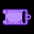 Back.stl Download STL file Sheikah slate Keychain version (Keychain) • 3D print design, Shigeryu