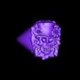 skullsignetring.stl Download free STL file skull signet ring • 3D printer model, Janusz