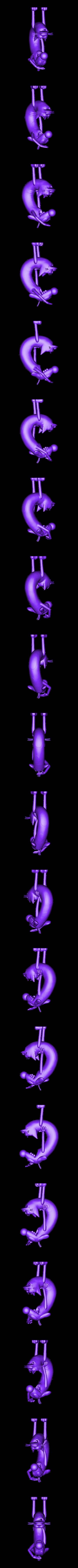 CATDOG_NICKELODEON.stl Download free STL file CatDog Nickelodeon • 3D print design, ismael_jiso