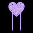 Pawheart.stl Download free STL file Garden pawheart decoration • 3D printer model, Jakwit
