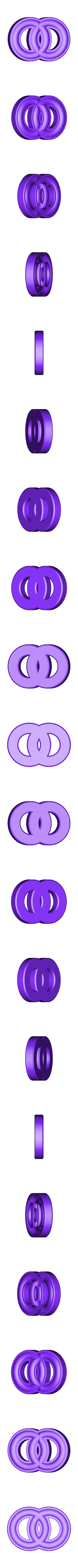 MarbleRingFree_16mm.stl Download free STL file Smiley Face Marble Rings, Hungarian Rings, Marble Fun • 3D printable design, LGBU