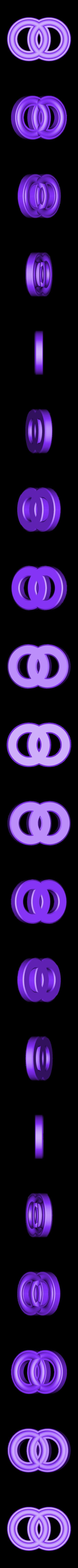 MarbleRingFree_14mm.stl Download free STL file Smiley Face Marble Rings, Hungarian Rings, Marble Fun • 3D printable design, LGBU