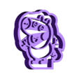 yorch pig.stl Download STL file Peppa Pig Family Cookie Cutter • 3D printer model, Gustavo015