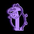 papa pig.stl Download STL file Peppa Pig Family Cookie Cutter • 3D printer model, Gustavo015