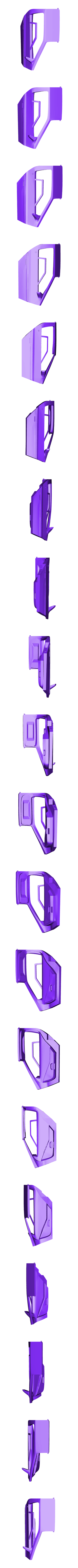 door_right.stl Download free STL file DIY DeLorean Time Machine with lights!! • 3D printer model, OneIdMONstr