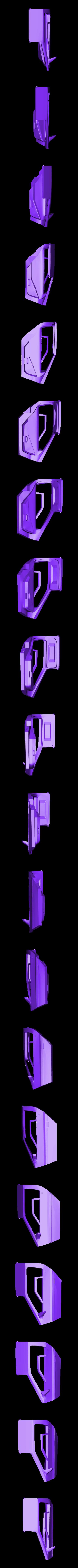 door_left.stl Download free STL file DIY DeLorean Time Machine with lights!! • 3D printer model, OneIdMONstr