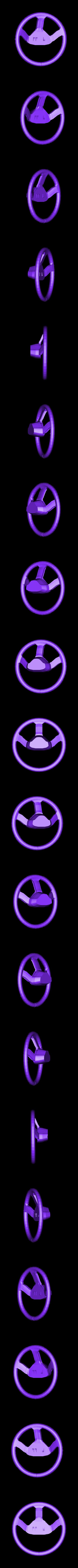 steering_wheel.stl Download free STL file DIY DeLorean Time Machine with lights!! • 3D printer model, OneIdMONstr