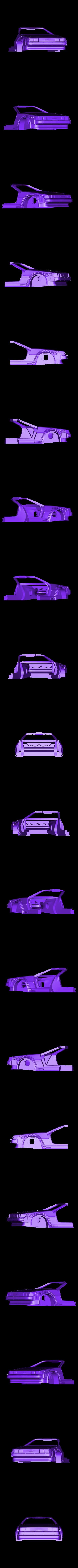 front_trans.stl Download free STL file DIY DeLorean Time Machine with lights!! • 3D printer model, OneIdMONstr
