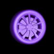 wheelMODEL3.stl Télécharger fichier STL gratuit TESLA MODÈLE 3 • Plan pour impression 3D, Gophy