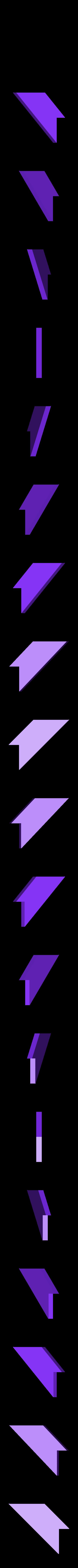 """iqPuzzle_T_3.STL Télécharger fichier STL gratuit Puzzle Assemblez une lettre """"T"""" de 4 pièces • Objet pour impression 3D, Cerega"""