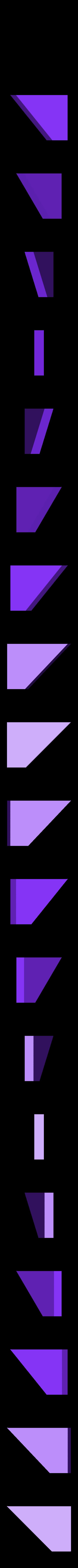 """iqPuzzle_T_4.STL Télécharger fichier STL gratuit Puzzle Assemblez une lettre """"T"""" de 4 pièces • Objet pour impression 3D, Cerega"""
