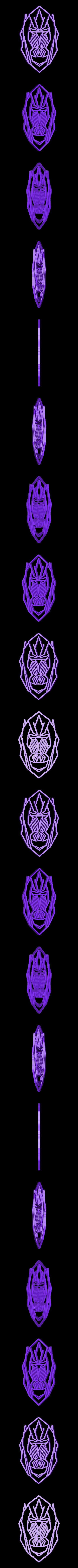 gorilastl.stl Télécharger fichier STL Pack animaux 2D sculpture murale • Design pour imprimante 3D, UnpredictableLab