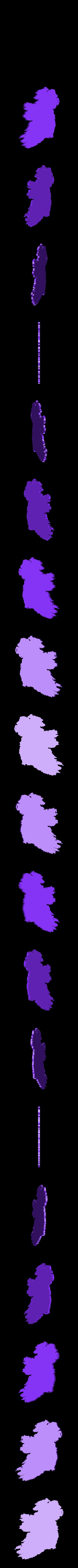 ireland.stl Download free STL file Ireland Map • 3D printer model, 3DME