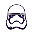 stormtrooper_snowface.stl Download free STL file Stormtrooper snoman face part • 3D printable object, 3DME