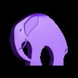 stylish_elephant_v02.stl Télécharger fichier STL gratuit Élégant éléphant • Objet pour imprimante 3D, 3DME