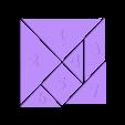 Tangram.stl Download free STL file Tangram with numbers • 3D printer design, Ing-Ki