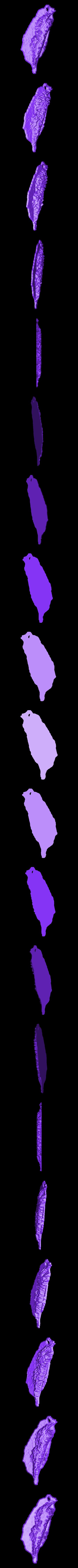 Formosa_without_Taipei.stl Télécharger fichier STL gratuit Modèles topographiques de Formosa (Taiwan) • Objet à imprimer en 3D, Ing-Ki