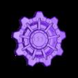 vault_door_big.stl Download free STL file stackable fallout vault door coaster • 3D print template, OneIdMONstr