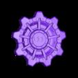 vault_door_small.stl Download free STL file stackable fallout vault door coaster • 3D print template, OneIdMONstr